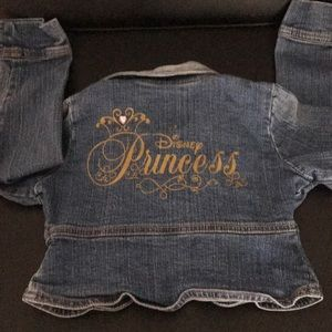 Disney Princess Jean Jacket  size 4
